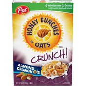 Honey Bunches Of Oats Almond Crunch O's Cereal