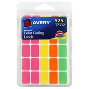 Avery Color Coding Labels, Removable