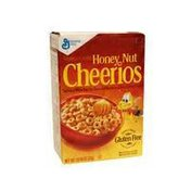 Cheerios Honey Nut Sweetened Whole Grain Oat Cereal with Real Honey & Natural Almond Flavor