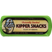 Season Kipper Snacks, Naturally Smoked