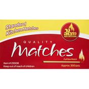 Ner Mitzvah Matches, Quality, Standard Kitchen