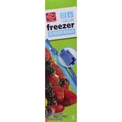 Harris Teeter Bags, Freezer, Slider, 1 Gallon