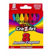Cra-Z-Art Jumbo Crayons - 8 CT