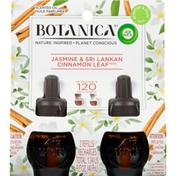 Botanica by Air Wick Scented Oil Refills, Jasmine & Sri Lankan Cinnamon Leaf