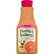 Florida's Natural 100% Juice, Grapefruit, Ruby Red