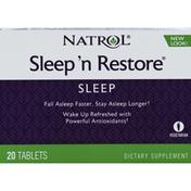 Natrol Sleep 'n Restore, Tablets