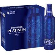 Bud Light Platinum Beer Bottles