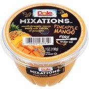 Dole Mixations Pineapple Mango Fruit Cup