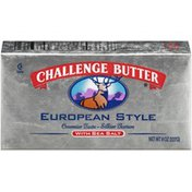 Challenge European Style with Sea Salt Butter