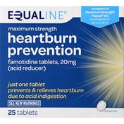 Equaline Heartburn Prevention, Maximum Strength, Tablets