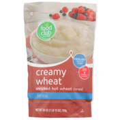Food Club Farina Creamy Wheat Enriched Hot Wheat Cereal