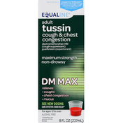 Equaline Tussin, Maximum Strength, Non-Drowsy, Adult