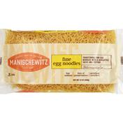 Manischewitz Egg Noodles, Homestyle, Fine