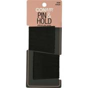 Conair Hair Pins, Pin & Hold, Brown