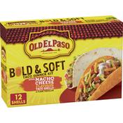 Old El Paso Nacho Cheese & Soft Tortilla Taco Dinner Kit