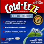 Cold-Eeze Cold Remedy, Lozenges, Mint Frost Flavor