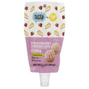 Wilton Tasty by  Strawberry Cheesecake Decorating Pouch with Tips, 6.5 oz.