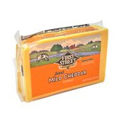 First Street Mild Cheddar Cheese