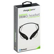 Chargeworx Headset, Stereo, Bluetooth