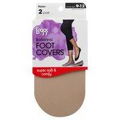 L'eggs Foot Covers, Ballerina, Nude