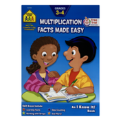 School Zone Multiplication Facts Made Easy An I Know It Book