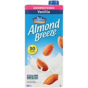 Almond Breeze Unsweetened Vanilla Fortified Almond Beverage