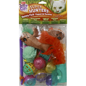 Hartz Cat Toys, Super Hunters, Just For Cats, Variety Pack
