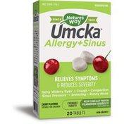 Nature's Way Umcka® Allergy+Sinus Chewables
