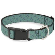 """Buckle-Down Large 1"""" PDX Portland-Themed Plastic Clip Dog Collar"""