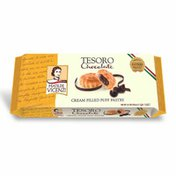 Matilde Vicenzi Tesoro Puff Pastry Cookies with Chocolate Filling