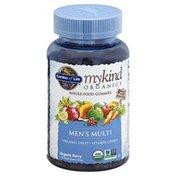 Garden of Life Men's Multi, Whole Food, Vegan Gummy Drops, Organic Berry
