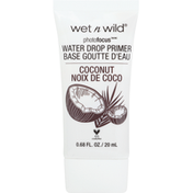 wet n wild Primer, Water Drop, Coconut Dreamin' 592A