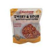 Sweet & Sour With Plant Based Protein