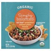 Simply Balanced Pinto Beans, Fat Free, Organic, Seasoned, Refried