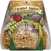 Moyers Caramel Apples, with Peanuts