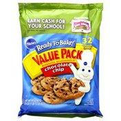 Pillsbury Cookies, Chocolate Chips, Value Pack