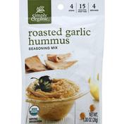 Simply Organic Seasoning Mix, Roasted Garlic Hummus
