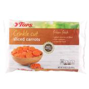 Tops Crinkle Cut Sliced Carrots