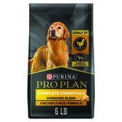 Purina Pro Plan Senior Dog Food With Probiotics for Dogs, Shredded Blend Chicken & Rice Formula