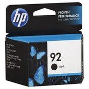 HP Ink Cartridge, Black 92