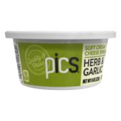 PICS Soft Cream Cheese Spread Herb & Garlic