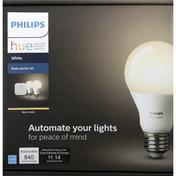 Philips Bulb Starter Kit, LED, White, Warm White, 9.5 Watts