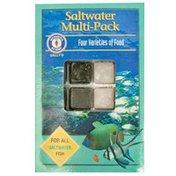 SF Bay Coffee Saltwater Multi-pack Four Varieties of Food for All Saltwater Fish