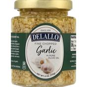 DeLallo Garlic, Fine Chopped