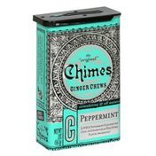 Chimes Ginger Chews, Peppermint