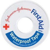 """Red Cross® Johnson & Johnson 1/2"""" X 10 Yds. First Aid Tapes Waterproof"""
