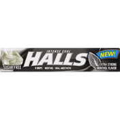 Halls Oral Anesthetic, Menthol, Intense Cool, Sugar Free