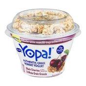 YoCrunch Yopa! Authentic Greek Nonfat Yogurt Black Cherries