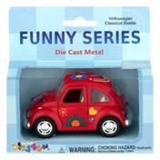 Kintoy Die Cast Metal Funny Series Car Volkswagen Classical Beetle