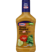 Kraft Dressing, Honey Mustard, with Bacon